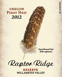 raptor-ridge-winery-reserve-pinot-noir-2012-label