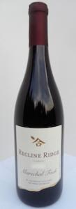 Recline Ridge Winery Marechal Foch botttle