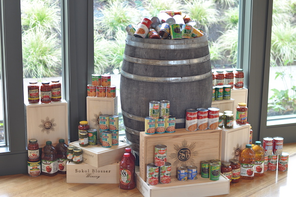 Sokol Blosser Winery in the Dundee Hills is among those wineries in the Willamette Valley Wineries Association participating in Willamette Cares Food Share program.