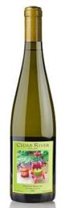 Cedar River Cellars-Mormor Riesling-Yakima Valley-2013-Bottle