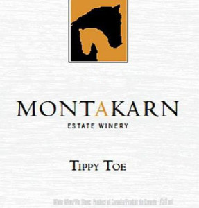 Montakarn Estate Winery Tippy Toe Unoaked label
