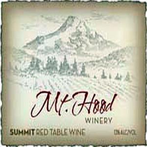 Mt. Hood Winery-Summit-NV-Label
