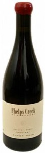 Phelps Creek VineyardS-Regina Pinot Noir-Columbia Gorge-2011-Bottle