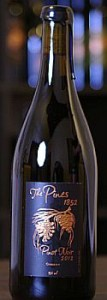 The Pines 1852-Pinot Noir-Columbia Gorge-2012-Bottle
