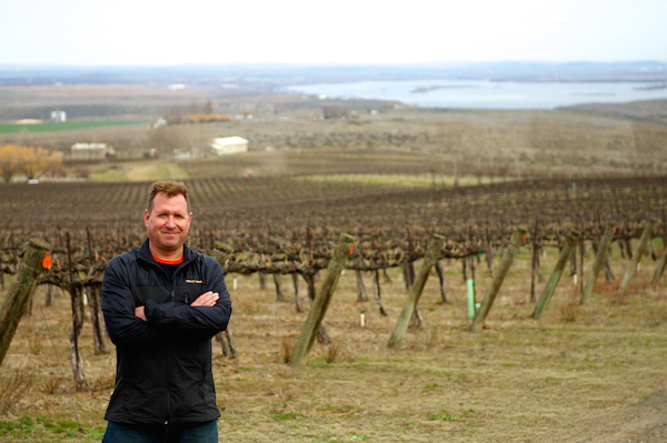Bill Murray is the winemaker for Canoe Ridge Vineyard and Winery in Walla Walla, Wash., and director of winemaking for Ste. Chapelle and Sawtooth in Idaho. He's a former winemaker at Acacia Winery in Napa Valley. (Photo courtesy of Canoe Ridge Vineyard)
