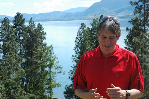 Bob Ferguson is co-owner of Kettle Valley Winery in Naramata, British Columbia.
