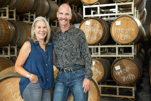 Rollin Soles and his wife, Corby Stonebraker-Soles, launched ROCO Winery in 2009.