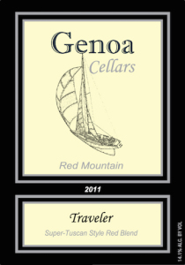 Genoa Cellars 2011 Traveler