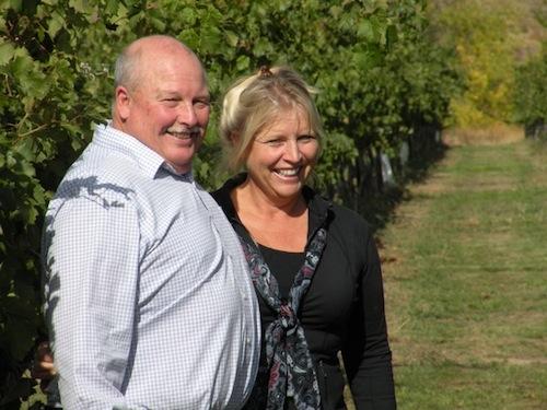 Blain and Kim Roberts own Westport Winery near Aberdeen, Washington.