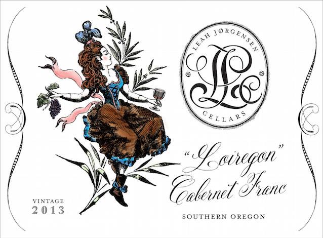 leah jorgensen cellars loiregon cabernet franc 2013 label great