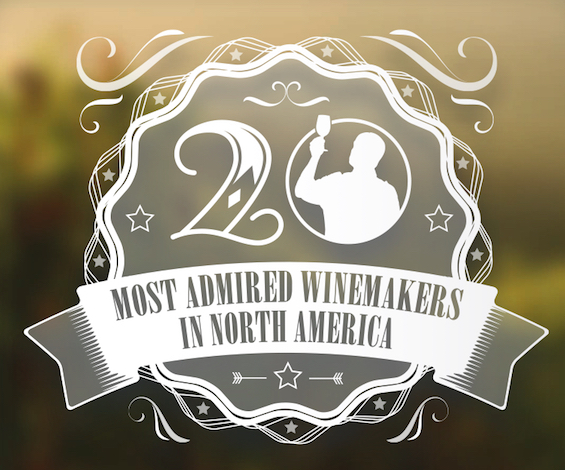 The second annual list of 20 Most-Admired Winemakers in North America was published in the November/December 2014 issue of Vineyard & Winery Management magazine.