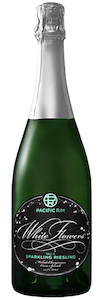 Pacific Rim Winemakers White Flowers NV Sparkling Brut Riesling bottle