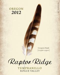 raptor-ridge-winery-tempranillo-2012-label