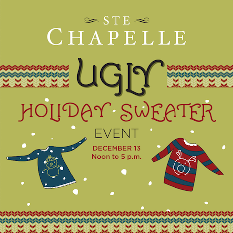 ste-chapelle-ugly-holiday-sweter-poster-2014