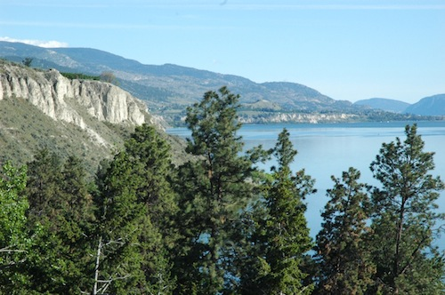 Kettle Valley Winery is on the southern end of Okanagan Lake.