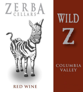 Zerbal Cellars Wild Z label