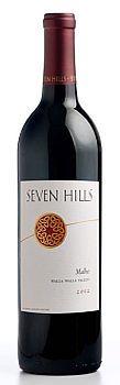 Seven Hills Winery-Malbec-Walla Walla Valley-2012-Bottle