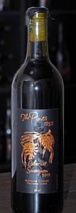 The Pines 1852-McDuffee Vineyard Cabernet Sauvignon-Columbia Gorge-2012-Bottle
