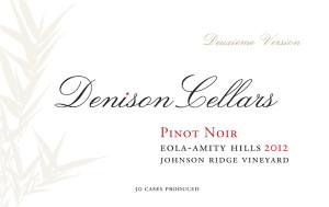 denison-cellars-johnson-ridge-vineyard-pinot-noir-2012-label