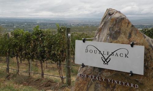 Drew Bledsoe's Doubleback Vineyard in the Walla Walla Valley.