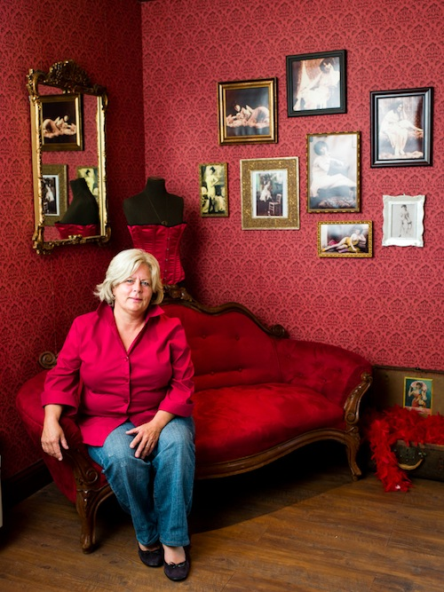 Judy Phelps is the winemaker and co-owner of Hard Row to Hoe in Manson, Wash.