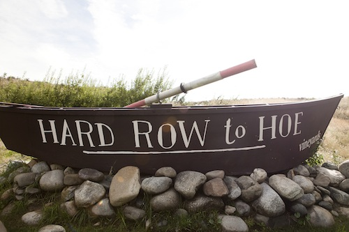 Hard Row to Hoe is in Manson, Wash.
