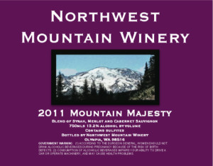 northwest-mountain-winery-mountain-majesty-red-wine-2011-label