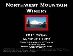 northwest-mountain-winery-syrah-2011-label