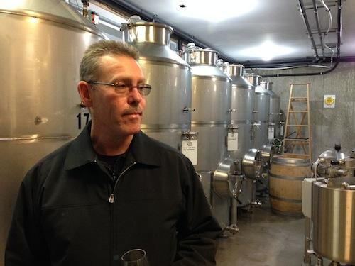 Hagen Kruger of Wild Goose Vineyards.