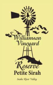 williamson-vineyard-reserve-petite-sirah-nv-label