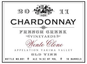 French-Creek-Vineyards-Wente-Clone-Old-Vine-Chardonnay-2011-Label