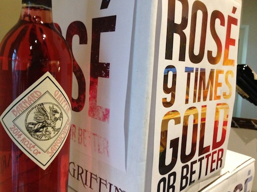 Barnard Griffin Winery's Rosé of Sangiovese has won gold medal or better nine times in 10 years.