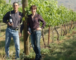 Karl and Coco Umiker own Clearwater Canyon Winery