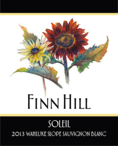 Finn Hill Winery 2013 Sauv Blanc label