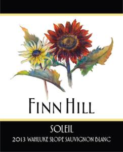 Finn Hill Winery 2013 Sauv Blanc label