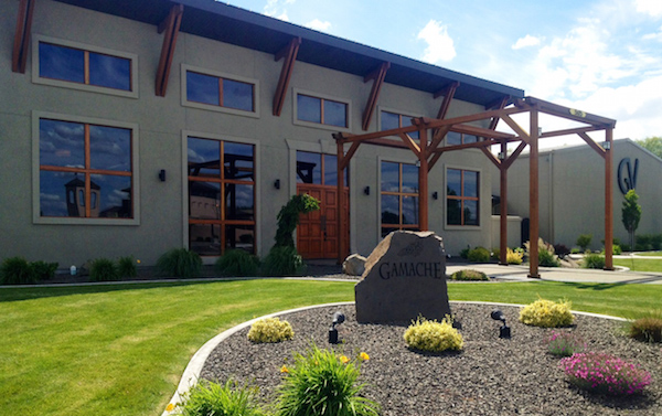 The tasting room for Gamache Vintners was opened at the Vintners Village in Prosser, Wash., by brothers Bob and Roger Gamache. (Photo courtesy of Gamache Vintners)