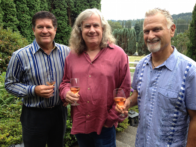 Greg Lill, winemaker Chris Upchurch and Jay Soloff continue to lead DeLille Cellars in Woodinville, Wash.