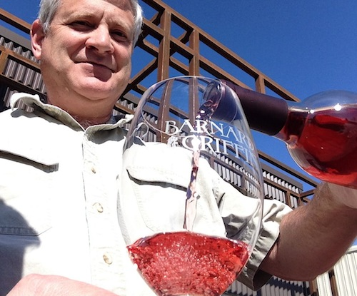 Rob Griffin of Barnard Griffin winery in Richland, Wash., makes Rosé of Sangiovese.