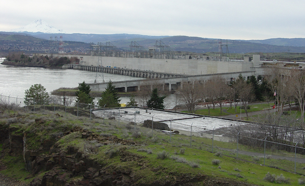 Despite the reduced snowpack in much of the Cascades, The Dalles Dam is projected to see 94 percent of its normal water flow this season, according to mid-winter forecasts.