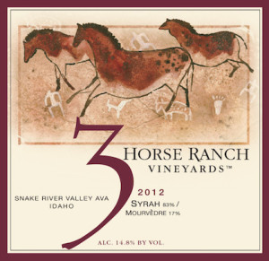 3-horse-ranch-vineyards-syrah-mourvedre-2012-label
