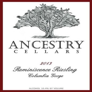 ancestry-cellars-reminiscence-riesling-2013-label