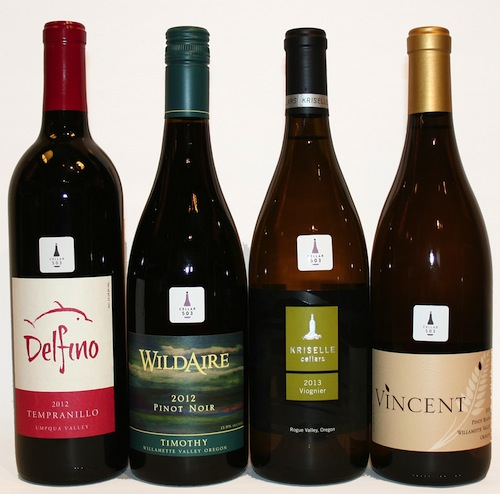 Cellar 503 procures wines from throughout Oregon.