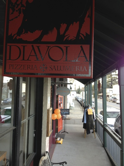 Diavola was the site of the second annual Judgment of Geyserville.