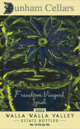 dunham-cellars-frenchtown-vineyard-syrah-label