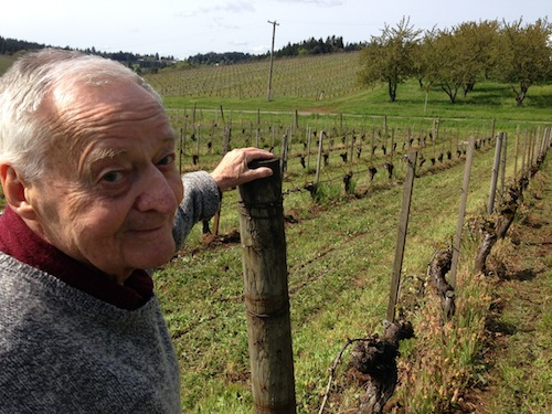 Jim Maresh planted some of the oldest Pinot Noir vines in Oregon wine country