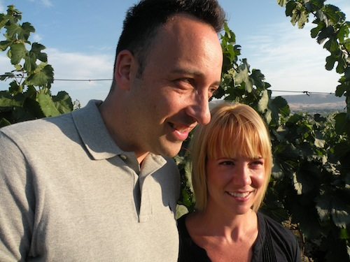 Juan Muñuz-Oca and Jessica Munnell are a winemaking couple in Washington state.