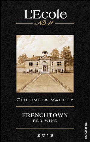 L'Ecole No. 41 2013 Frenchtown Red Wine label