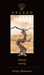 upland-estates-teunis-2009-label