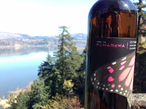 Palencia Winery's 2014 Vino La Monarcha Pinot Noir Rose won best of show at the third annual Great Northwest Wine Competition.