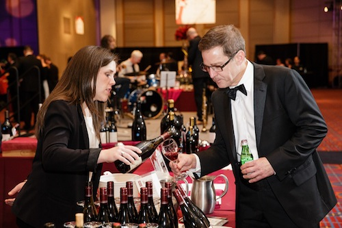 The Classic Wines Auction took place in Portland, Oregon.